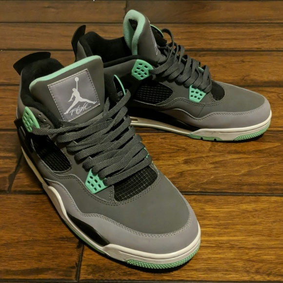68c06fbc814 Jordan Shoes | Air 4 Retro Green Glow | Poshmark
